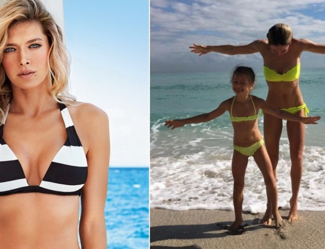 Фото полных женщин на пляже в купальниках