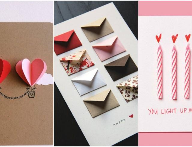 Открытки на День святого Валентина своими руками: идеи
