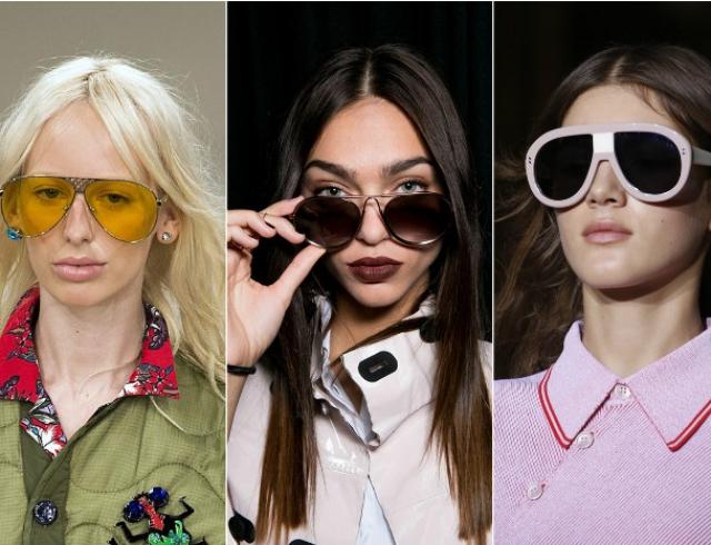 Какие женские очки в моде в 2016 году фото: модные солнцезащитные очки