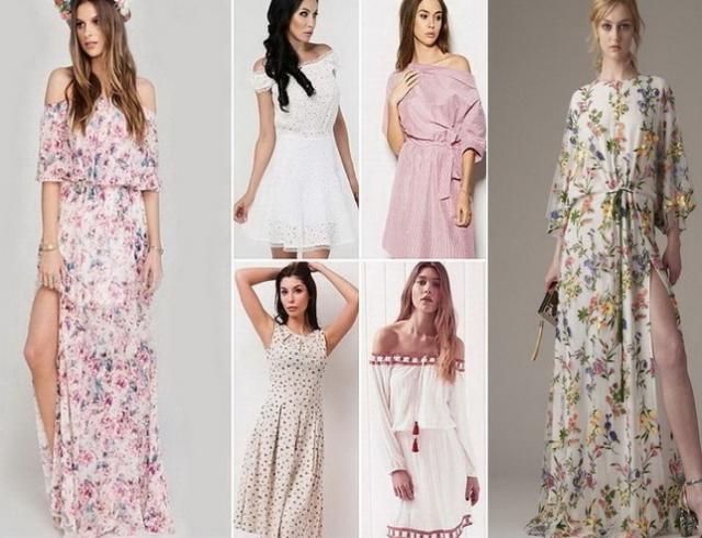 Женские платья мода фото