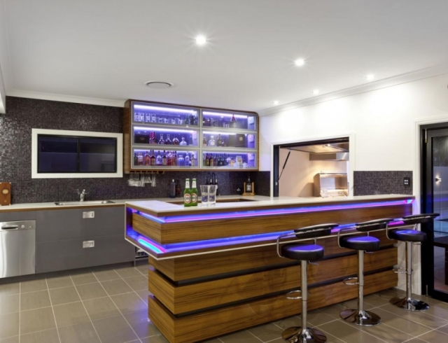 Дизайн кухни с барной стойкой: красивые и удобные идеи (ФОТО 20+)