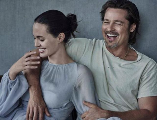 Последние совместные фото Джоли и Питта за пару недель до развода: затишье перед бурей