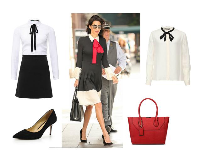 Платье как у Амаль: как одеться в стиле Амаль Клуни и не потратить целое состояние