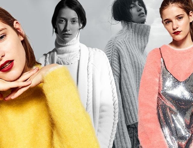 Модные свитеры осень-зима 2016-2017: лучшие модели, магазины, цены