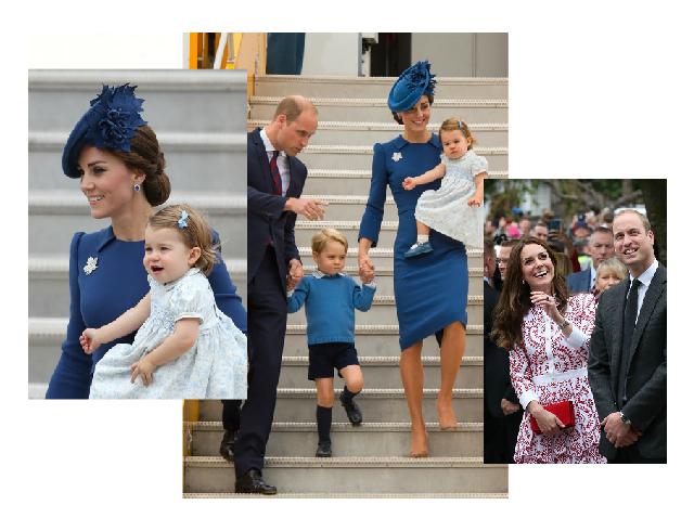 Ее королевское высочество: Кейт Миддлтон демонстрирует хороший вкус во время визита в Канаду