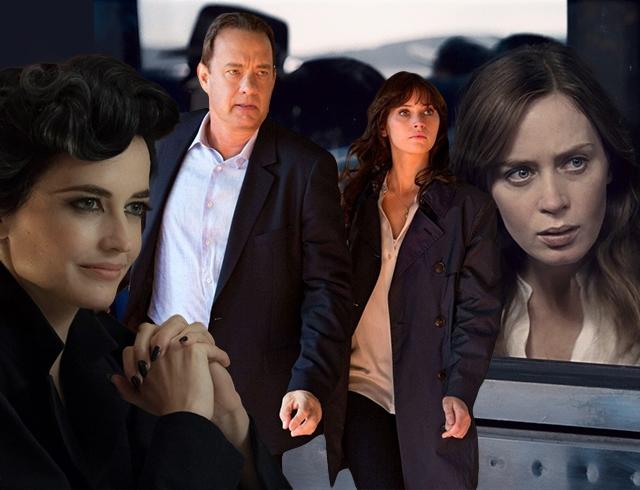 Кинопремьеры октября – зрителям не дадут расслабиться: триллер «Девушка в поезде», загадки «Инферно» и «Дом странных детей»