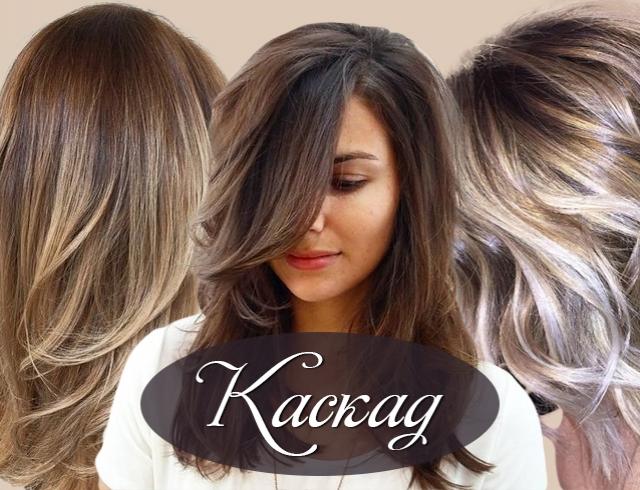 каскад на средние волосы фото прически