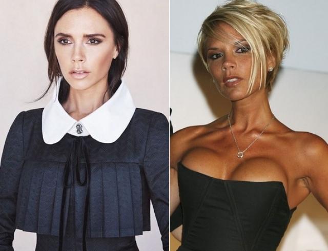 Виктория Бекхэм призналась, что жалеет об увеличении груди