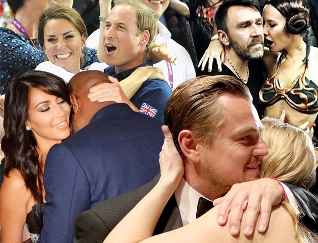 Обнимай меня скорей: яркие фотографии обнимающихся знаменитостей