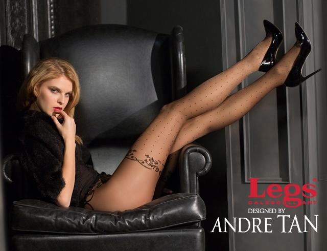 Вечерняя линия колготок Legs BY Andre Tan
