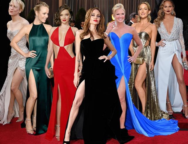 Все на борт: 10 самых высоких разрезов «Оскар»