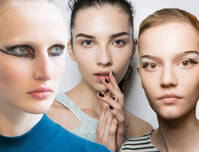Модные брови 2017: два главных тренда с мировых недель моды