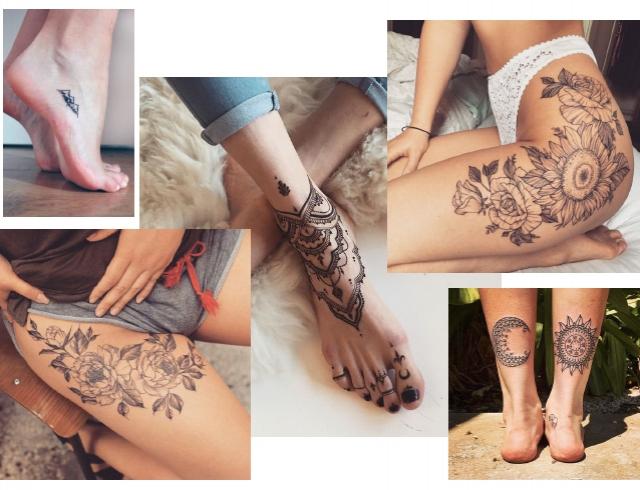 Птицы татуировки: значение и фото