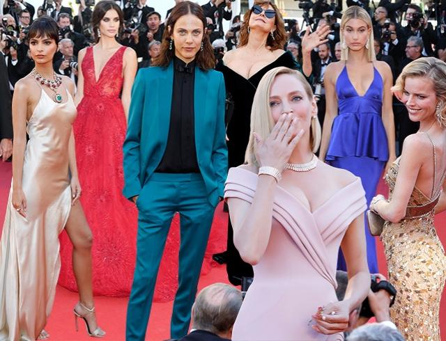 Первая красная дорожка Каннского кинофестиваля: победа брючного костюма над «старым Голливудом»