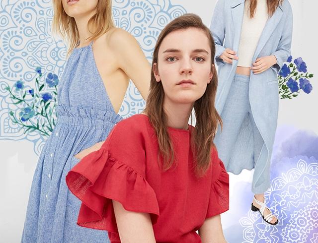 Льняная одежда на лето: модно и практично