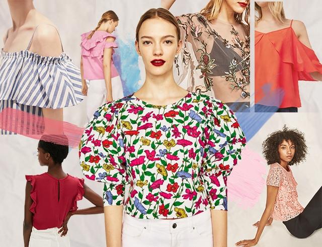 Всё о модных блузах: рубашки, топы, сорочки