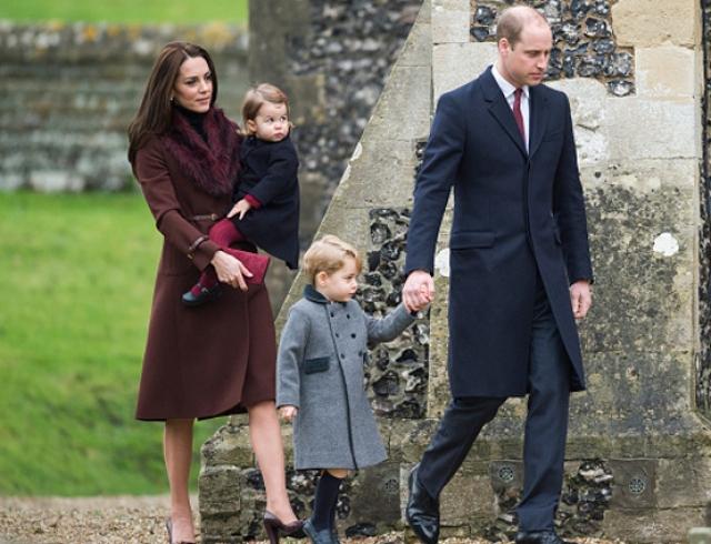 Принц Джордж и принцесса Шарлотта побывали у могилы принцессы Дианы: сын леди Ди рассказывает наследникам о бабушке (ФОТО)