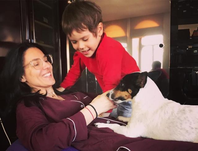 Маша Ефросинина растрогала соцсети новым ФОТО с подросшим сыном Сашей