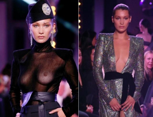 Белла Хадид стала самой обсуждаемой моделью Недели моды Haute Couture из-за откровенных нарядов