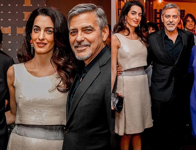 Кто старше: стал известен порядок рождения двойняшек Джорджа и Амаль Клуни
