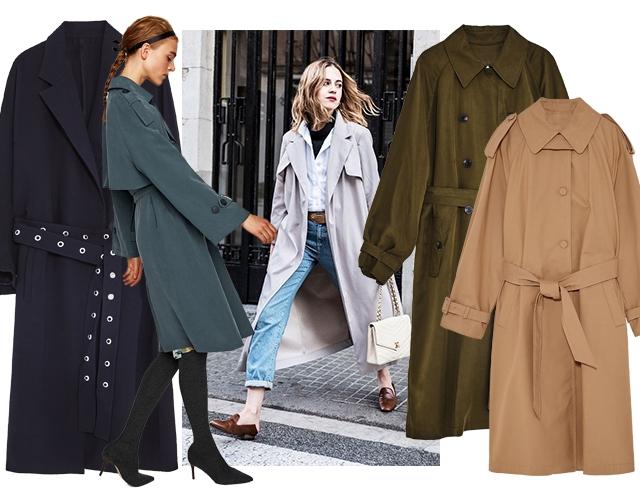 Модные плащи и тренчи на осень: где купить и какие выбрать