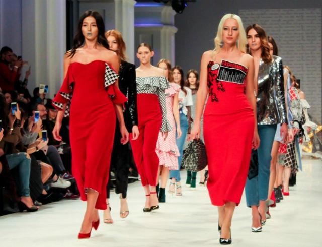 Презентация и гашение почтовой марки Ukrainian Fashion Week