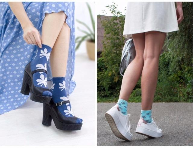 Цветные носки – проходящий тренд или признание на вечно? Тенденции 2017