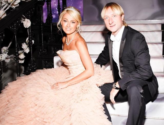 Венчание Яны Рудковской и Евгения Плющенко: как это было (ФОТО+ВИДЕО)
