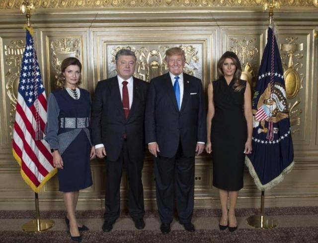 Зеленський з дружиною побували на офіційному прийомі у Трампа - Цензор.НЕТ 240