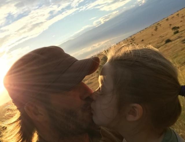 Доза умиления: в Сети обсуждают новое трогательное ФОТО Дэвида Бекхэма с 6-летней дочерью
