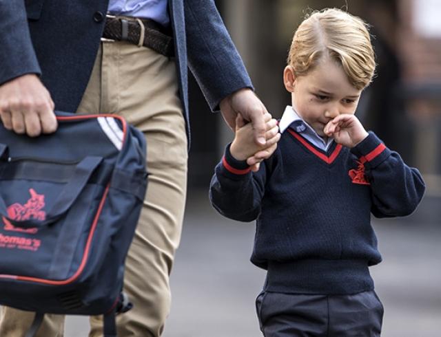 """Принц Уильям рассказал о нелюбви принца Джорджа к учебе: """"Довез его до школы, а он не хотел идти"""""""