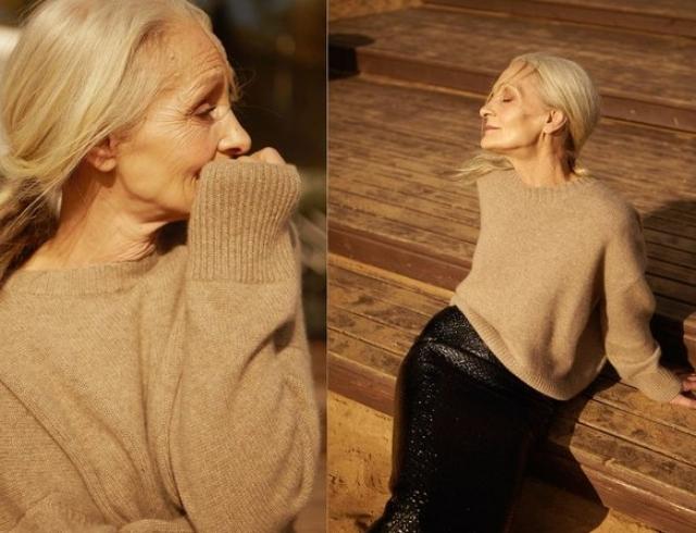 У красоты нет возраста: 62-летняя модель снялась в лукбуке 12Storeez (ФОТО)