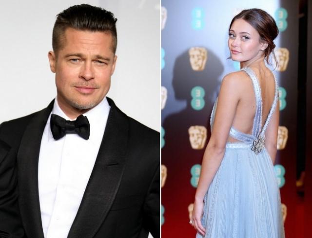 У Брэда Питта новый роман: избранницей стала 21-летняя актриса, которая играла в одном фильме с Анджелиной Джоли