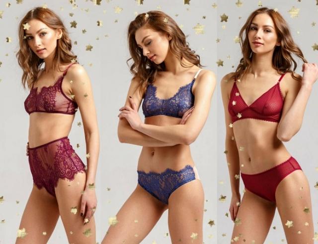 Что подарить на Новый год 2018: новогодняя коллекция нижнего белья Lace up