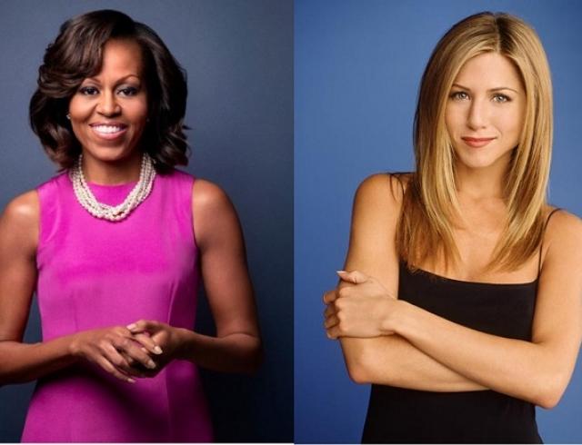 Мишель Обама и Дженнифер Энистон блеснули стильными образами на телешоу Эллен Дедженерес(ФОТО)