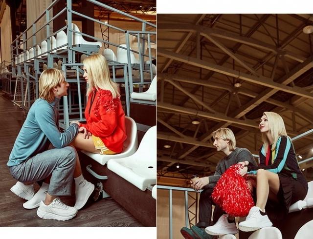 Яна Рудковская и Евгений Плющенко появились в трогательной фотосессии к 14 Февраля