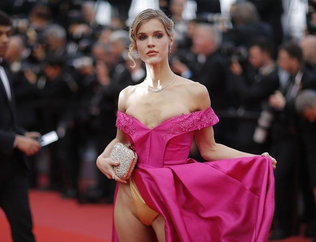 Всем можно, а мне нет? Новое скандальное платье на Каннском кинофестивале 2018
