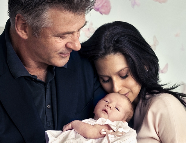Алек Болдуин стал отцом в пятый раз