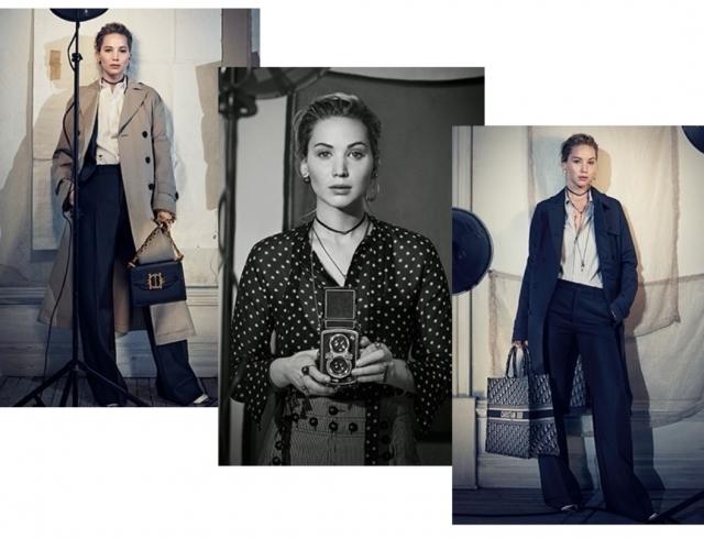 Модные тренды: Дженнифер Лоуренс в новой рекламной кампании Dior