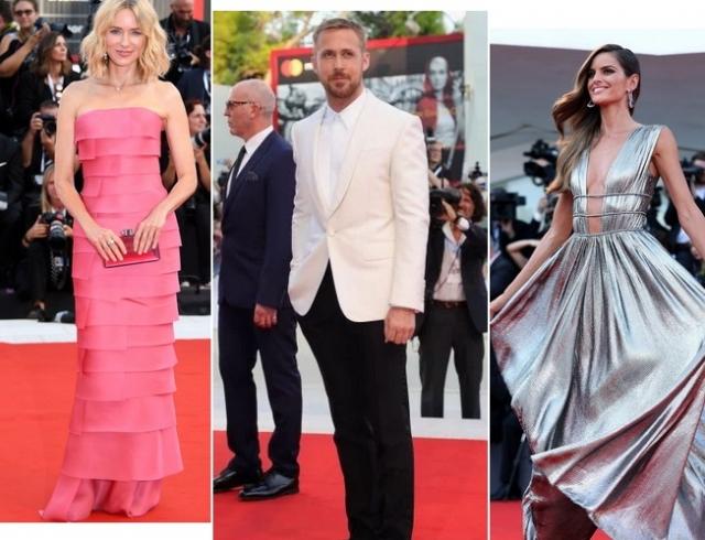 Красная дорожка церемонии открытия Венецианского кинофестиваля: лучшие образы