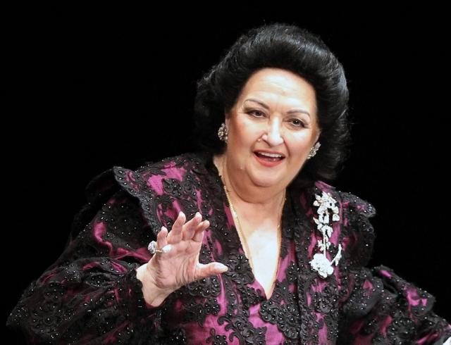Умерла известная оперная певица Монсеррат Кабалье