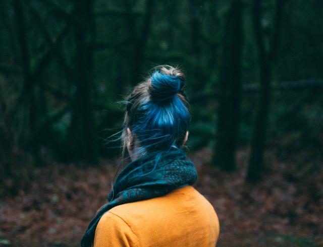 Прически на Хэллоуин 2018: как сделать необычный цвет волос