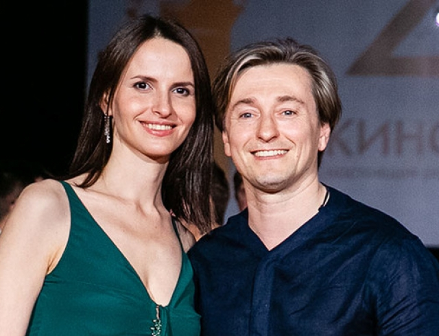 У Сергея Безрукова и Анны Матисон родился сын
