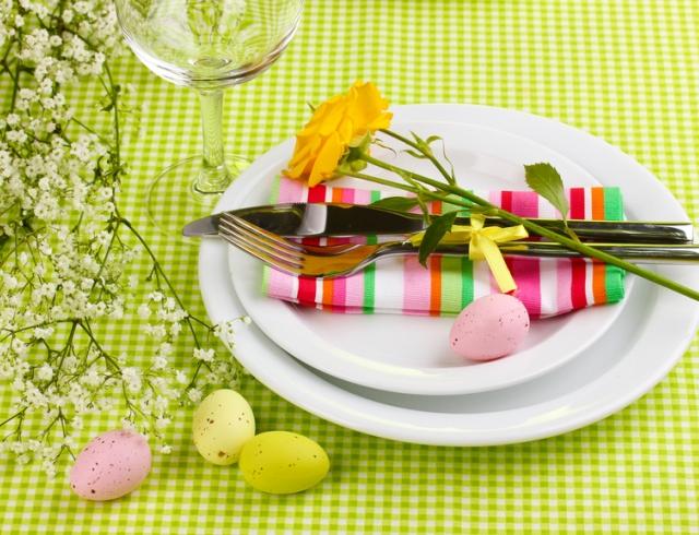 Пасхальный стол: декор и сервировка. ФОТОГАЛЕРЕЯ