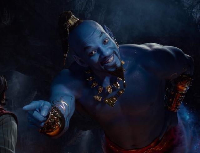 Уилл Смит в образе Джинна в новом трейлере фильма