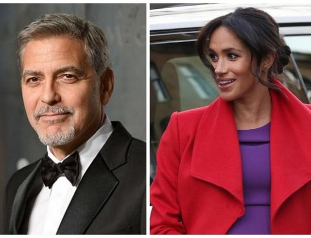 """""""Она в первую очередь женщина"""": Джордж Клуни вступился за Меган Маркл в борьбе с хейтерами"""