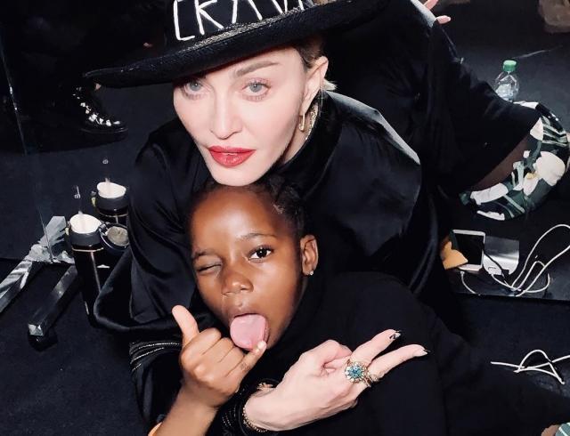 Мадонну обвинили в расизме из-за модного Инста-тренда