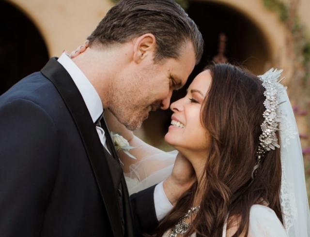 Как это было: актриса Холли Мари Комбс показала красивейшие фото со свадьбы