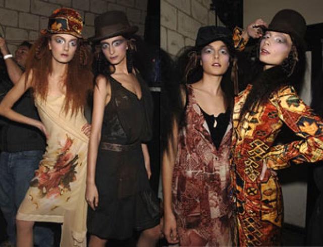 JOHN GALLIANO представил коллекцию, вещи из которой можно носить