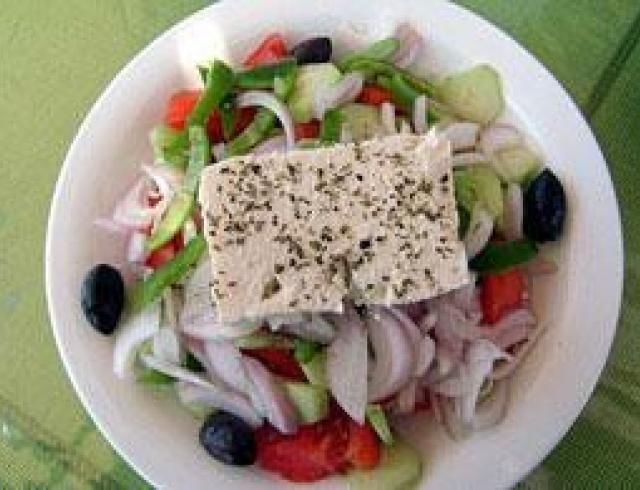 Греческий салат. Приготовьте его по классическому рецепту